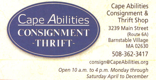 Cape Abilities Consignment and Thrift Shop